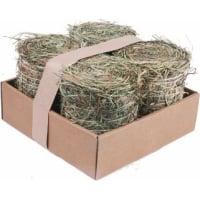 Packung mit 4 natürlichen Heuballen