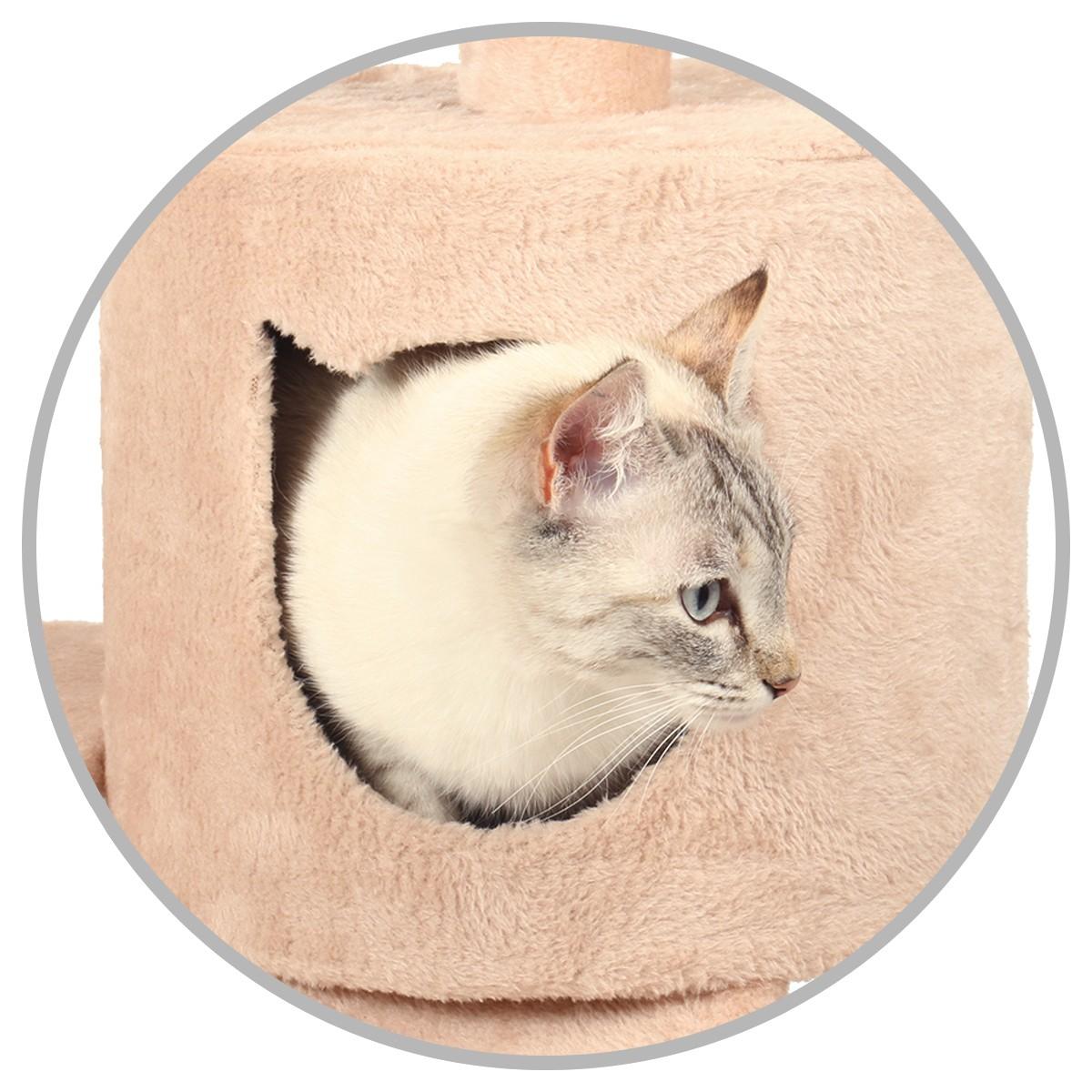 Votre chat à l'abri pour faire ses siestes !