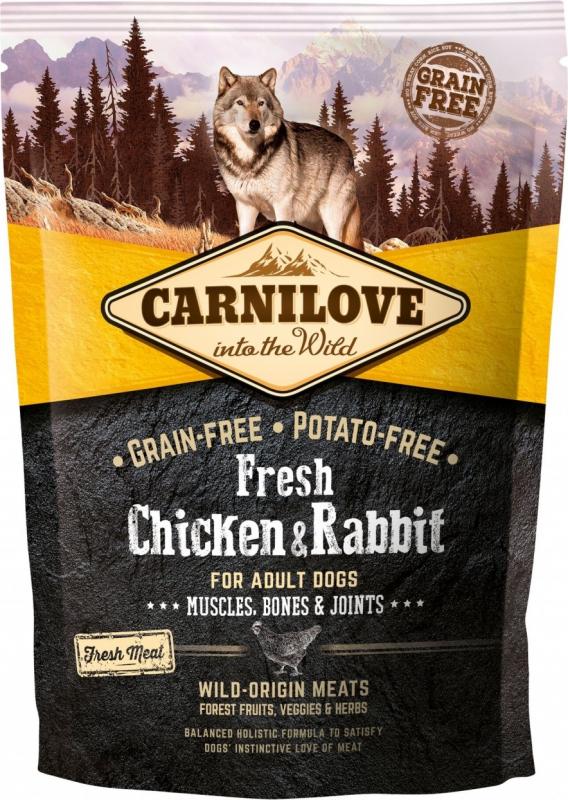 CARNILOVE FRESH Chicken & Rabbit pour Chien Adulte