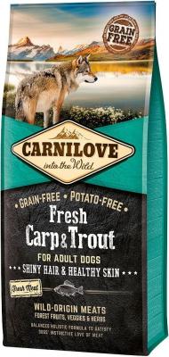 CARNILOVE FRESH Carp & Trout pour Chien Adulte