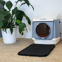 Alfombrilla recoge arena XL para bandeja sanitaria de gato Zolia Alveolada y fácil de limpiar
