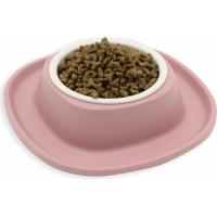Gamelle pour petits chiens ou chats Simple Soft Touch avec bol plastique