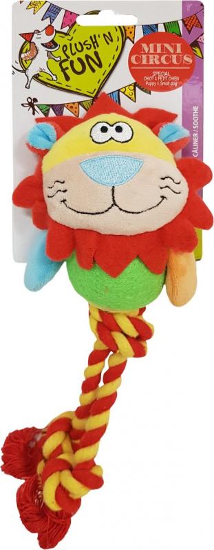 Jouet pour chien Balle Lion Mini Circus - 25cm