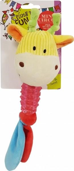 Jouet dentaire pour chien en TPR Mini Circus Vache - 25cm
