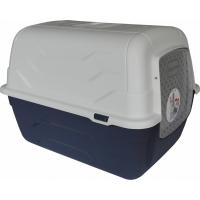 Maison de toilette pour chat Queen - Innovante, ouverture facile pour le nettoyage 52cm