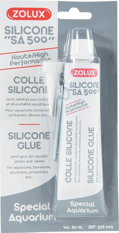 Silicone pour aquarium 80 ml zolux
