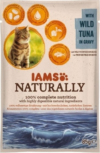 Pâtées IAMS Land & Sea Collection 85g pour Chat Adulte