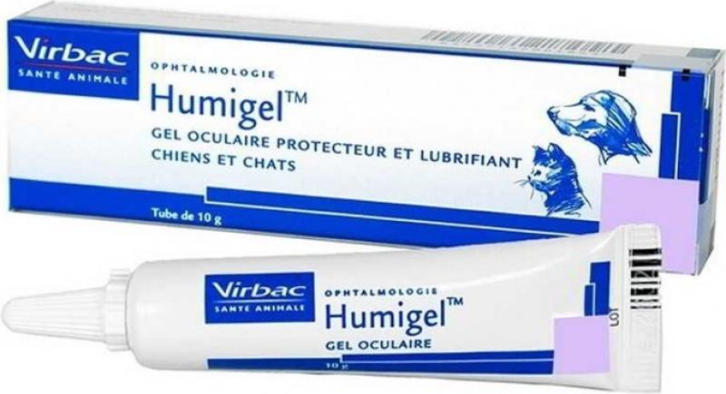 Virbac Humigel Gel oculaire lubrifiant et protecteur