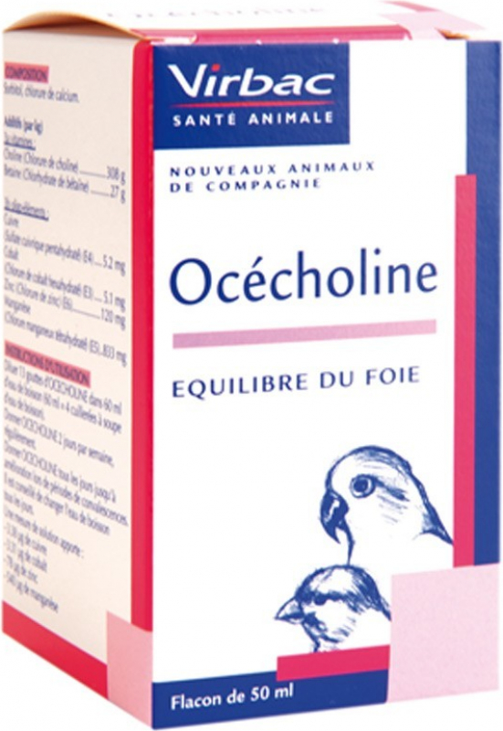 Virbac Ocecholine Limita le infiltrazioni di grasso al livello del fegato