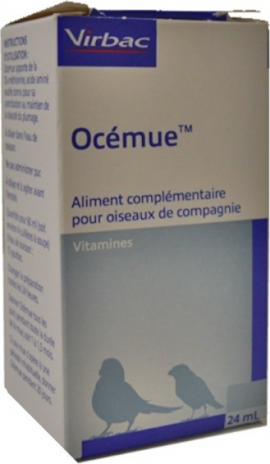 Virbac Ocemue Vitamines om de rui van vogels te bevorderen