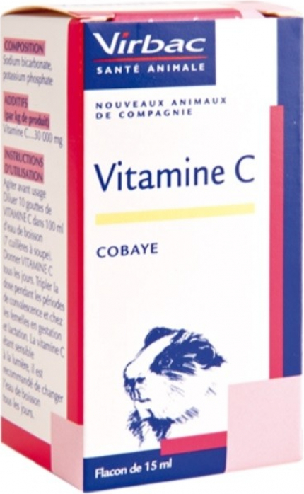 Virbac Vitamine C pour Cobaye