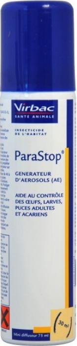Virbac Parastop Diffuseur Insecticide et acaricide pour l'habitat