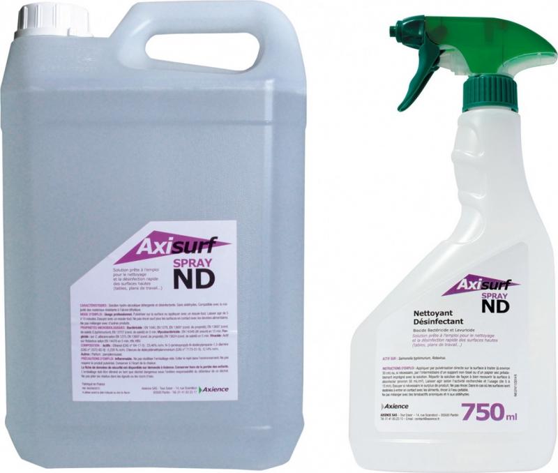 AXIENCE Axisurf ND Spray - Hydroalkoholische Reinigungs- und Desinfektionslösung