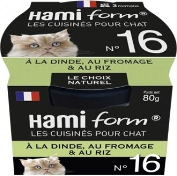 HAMIFORM Les Cuisinés pour Chat Recettes de Viande