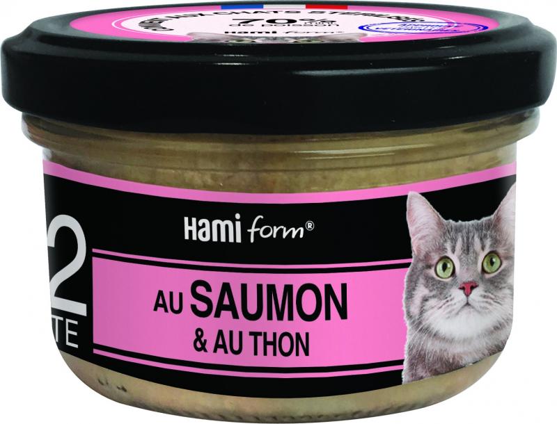 HAMIFORM Les Cuisinés pour Chat Recettes de Poisson