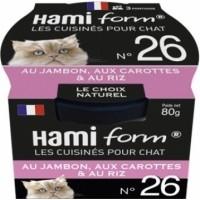 HAMIFORM Les Cuisinés pour Chat Recettes de Viande & Poisson