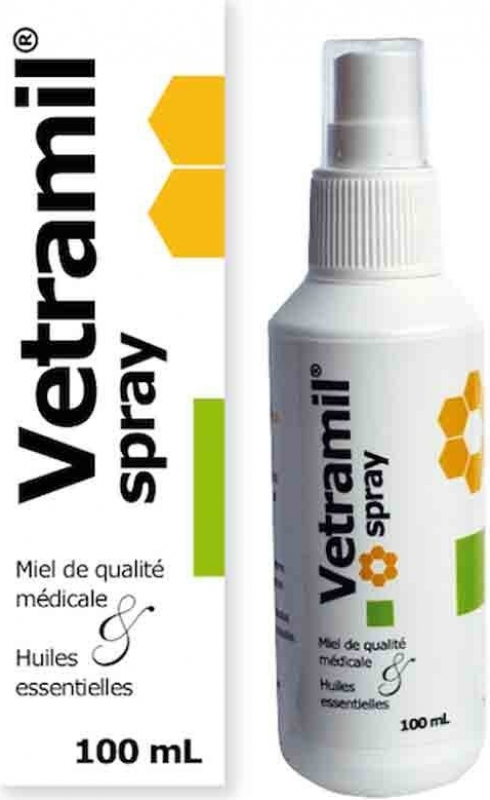 Axience Vetramil Spray Cicatrisant et hygiène cutanée