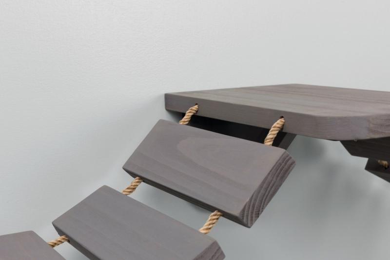 echelle d 39 escalade pour montage mural pour chat. Black Bedroom Furniture Sets. Home Design Ideas