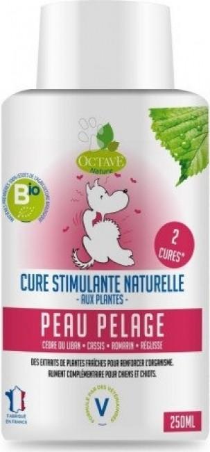 Octave Nature - Cure Stimulante Biologique Naturelle Peau & Pelage pour Chien et Chiot