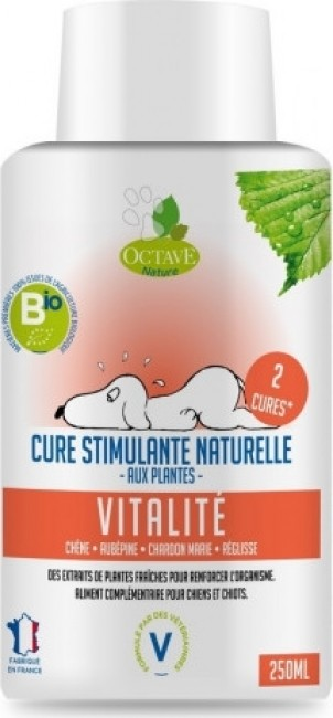 Octave Nature - Cura estimulante biológica natural vitalidad para perro y cachorro