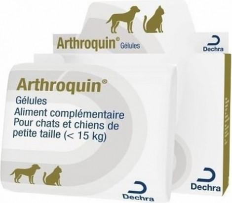 DECHRA Arthroquin - Complément alimentaire pour les articulations du Chien et du Chat
