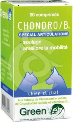 GREEN VET Chondro/B - Complément alimentaire pour les articulations du Chien et du Chat