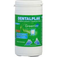 GREEN VET Dentalplak - Dentifrice en Poudre pour chien et Chat