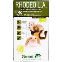 Greenvet Rhodeo L.A. Pipetas repelentes com princípios activos naturais para NAC