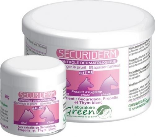 Greenvet Securiderm Baume contre les problèmes dermatologiques