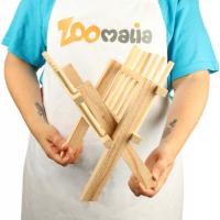 Râtelier en bois pour foin Zolia