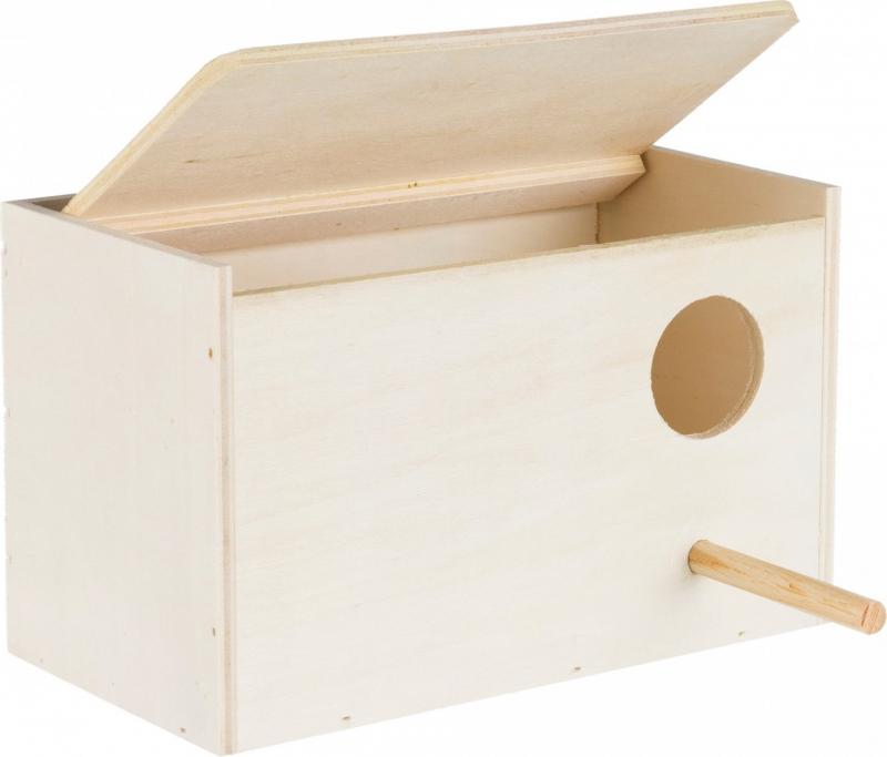 Ninho de madeira Zolia para pequenos pássaros e aves do exterior