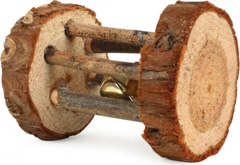Rouleau de jeu avec clochette pour rongeurs Zolia