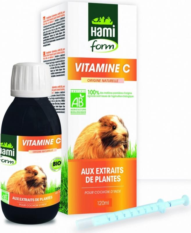 Complejo Vitamina C BIO para conejillo de indias