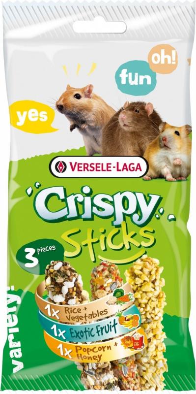 Versele Laga Sticks Omnivores Triple Variety Pack
