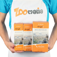 Filet de protection transparent pour chat Zolia Angel - 3 tailles disponibles