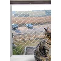 Filet de protection transparent pour chat Zolia Angel - 3 tailles disponibles
