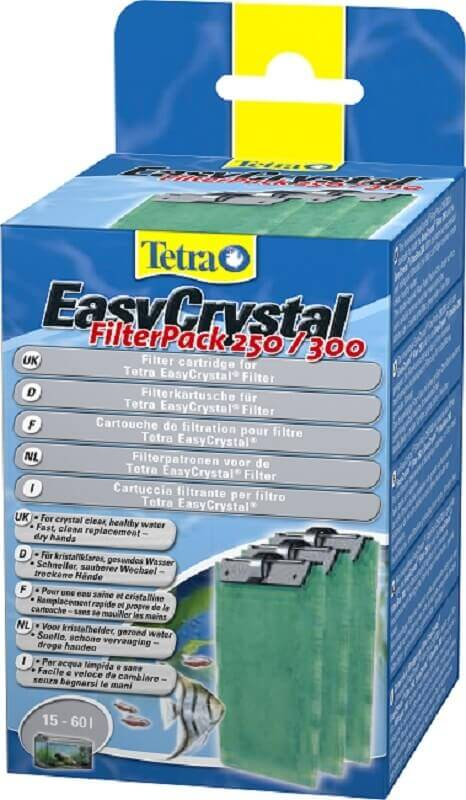 Cartouche de filtration Tetra Easy Crystal filter pack 250/300 (x3)