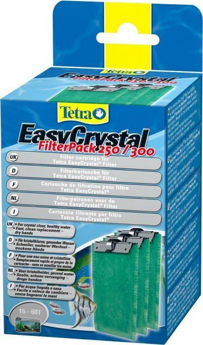 Filterpatroon Tetra Easy Crystal filterpack 250/300 (x3)