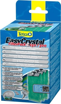 Tetra EasyCrystal Filter Pack C 250/300 with Activated Carbon