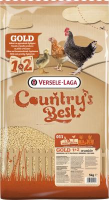 Gold 1&2 Crumble Country's Best Miettes pour poussins jusqu'à la ponte