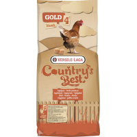 Gold 4 Red Mash Country's Best Farine del ponte per una bella tonalità rossastra di tuorlo d'uovo