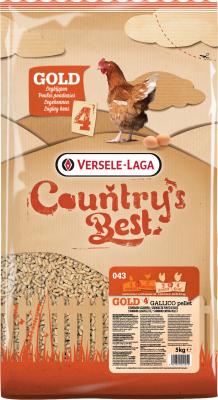 Gold 4 Gallico Pellet Country's Best Granulé de ponte de base à partir du premier œuf