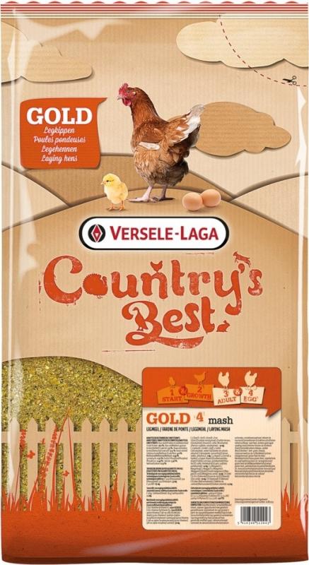 Gold 4 Mini Mix Country's Best Mélange pour poules naines