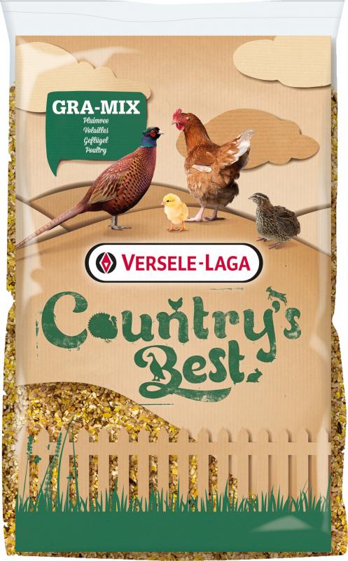 Gra-Mix Mélange poules Country's Best avec Maïs et tournesol