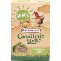 Snack Garden Mix Country's Best Délicieux mélange enrichi en granulés d'herbes pour poules