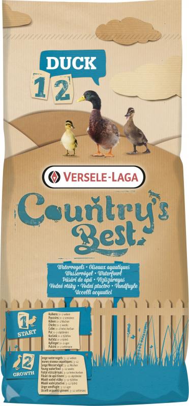 Duck 1 Crumble Country's Best Miettes de démarrage pour oiseaux aquatiques