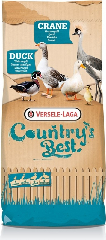 Crane 3&4 Pellet Country's Best Granulé d'entretien et d'élevage pour grues et ibis