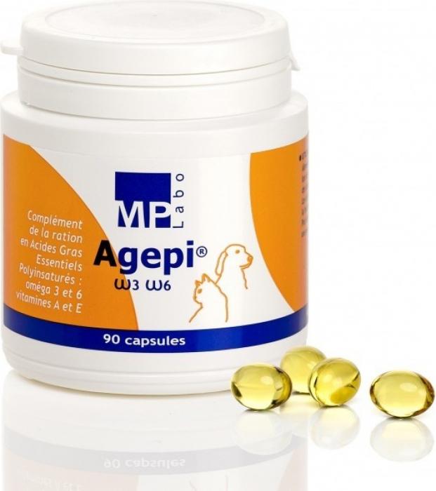 MP Labo Agepi Omega 3 et 6 Pour la peau et le pelage