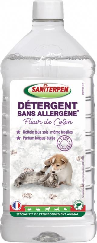 Saniterpern Détergent sans allergène à la fleur de coton