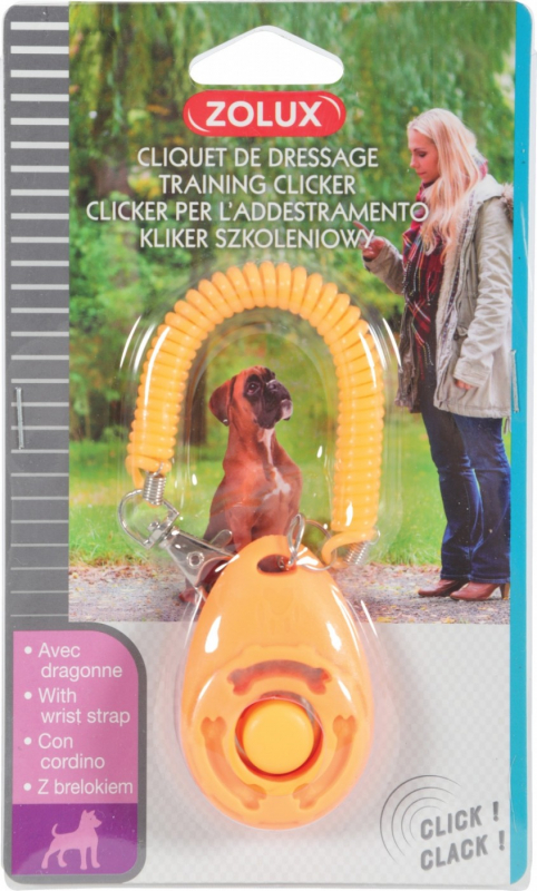 Clicker de dressage, éducation pour chien